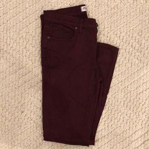 Madewell skinny tencel pant